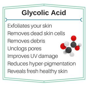 Skin Benefits of Glycolic Acid