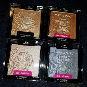 Wet n Wild Megaglo Highlighters in 4 Shades!