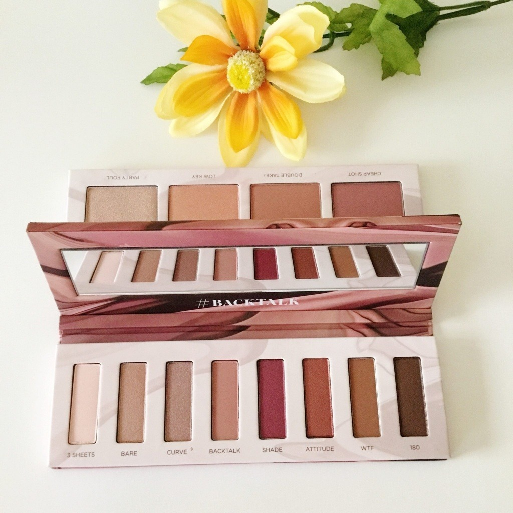 Urban Decay Backtalk Palette Review