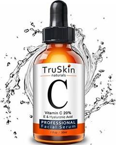 TruSkin Vitamin C 20% plue E and Hyaluronic Acid.