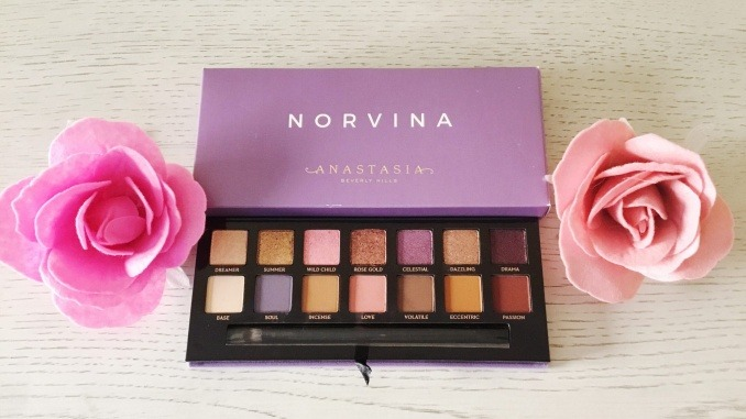 Anastasia Beverly Hills Novina Eyeshadow Palette Review