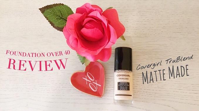 Covergirl TruBlend Matte Made Liquid Foundation Review
