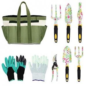 Eslibai 9 piece Garden Tool Set
