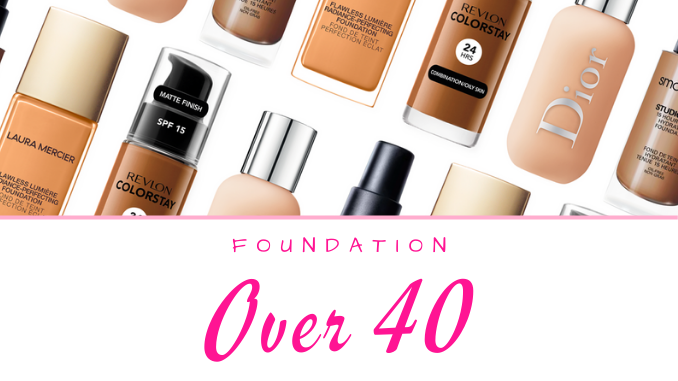 Makeup Foundation Revews for Women Over 40